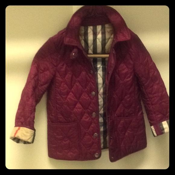 fbc534ce9 Burberry Jackets & Coats | Girls Diamond Quilted Jacket | Poshmark